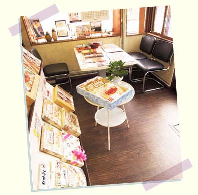 事務所販売スペース